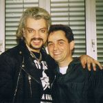 With his cousin russian pop king Philipp Kirkorov