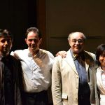With Alberto Portugheis and other colleagues at the Colombes Masterclass 2012