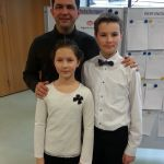 With Daria and Maximilian , winners of Jugend musiziert