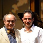 With his longtime teacher and friend Prof. Alberto Portugheis